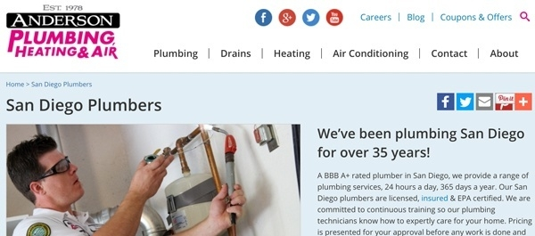 Anderson Plumbing Heating and Air
